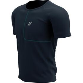 Compressport Training SS T-Shirt Born To SwimBikeRun 2021 Men, azul